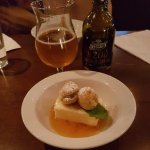 Beer and dessert!