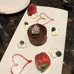 Our complimentary dessert for our anniversary