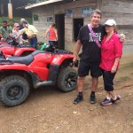 Stop at the family run store at the coffee plantation