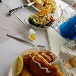 Seafood Basket and Hawaiian Chicken