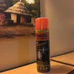decoration: bug spray