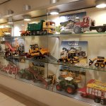 Display of locally made toys