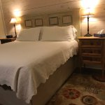 Kennon Room-King bed at Square Inn on the Wimberley Square Texas