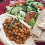 Hummus and Pitta Bread