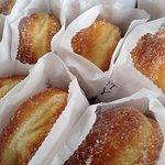 delicious doughnuts, warm and fresh!