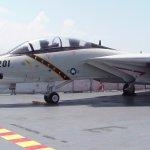 Fighter Jet on Flight Deck