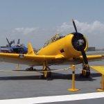 Fighter Plane on Flight Deck