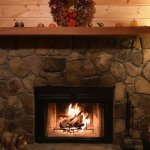 Fire starters and wood were left for us and created such a cozy, mountain feeling.