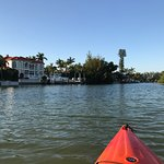 The houses around Otter Key