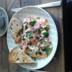 My Superb Salmon Omelette Had Me Wiggling My Toes In Glee & Mmmming In Delight. Perfect Place To
