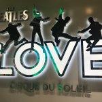 Photo of The Beatles - Love - Cirque du Soleil