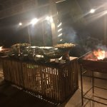 BBQ night at Sandals