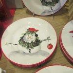 Holiday Plates in Store, CIA Greystone, Napa Valley, CA