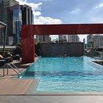Pool on the 8th floor