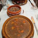 Veal stew with horseradish & lamb stew