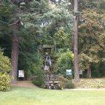 Accès au parc du Thabor par la rue de paris