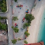 A kids play ground near the beach - another reason to visit Thulusdhoo