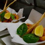 Seafood basket with a twist