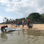 great staff and activities - lovely beach setting
