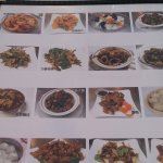 Pictures on menu