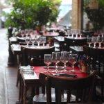 Tables en terrasses, été comme hiver
