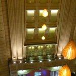 Blick in den 5. Stock (Atrium Lounge)