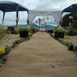 Arranjo de casamento a praia Vermelha do centro