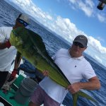 A great Mahi Mahi from Costa Rica
