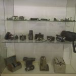 Cameras through the years.