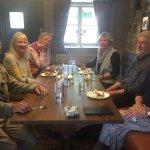 Locals enjoying lunch not long after James had taken over the Ben Jonson
