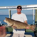 Grouper couldn't hide from Captain Wes.