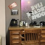 Rookie's desk