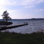 beautiful view of Lake of the isles and place to dock your boat