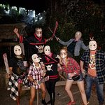 At Halloween Festival, guests are encouraged to dress up! We visited on Friday the 13th!
