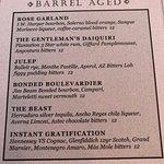 "Barrel Ages cocktails haf-price at happy hour. Like the ""Instant Gratification."""