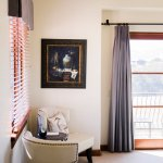 A Sophisticated Corner to Enjoy the Views From Our Siena Guest Room