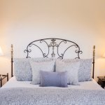The King Brass Bed in Our Siena Guest Room