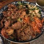the Lemongrass Pork and Shrimp
