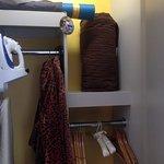 Yoga mats and leopard bathrobes