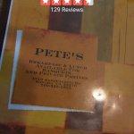Pete's Family Restaraunt