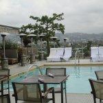 Pool/cafe area