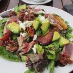 House salad with ahi