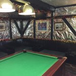 The Games room at Christmas
