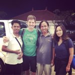 With Putu and Ketut. Thank you!!