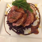 Amazing duck breast-cooked to perfection!