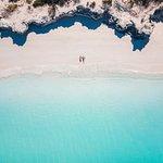 Pine Cay Beach Drone Photo