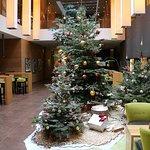 Weihnachtliche Lobby / Christmassy lobby