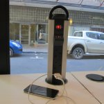 USB charging ports and excellent free WiFi