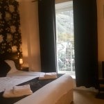 Room 6- Double Room/Family Room with En suite.  Over looks mountains and Blaenau-Ffestiniog main
