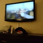 We watched the finale of GoT in our room with room service. Sad, but a great night!